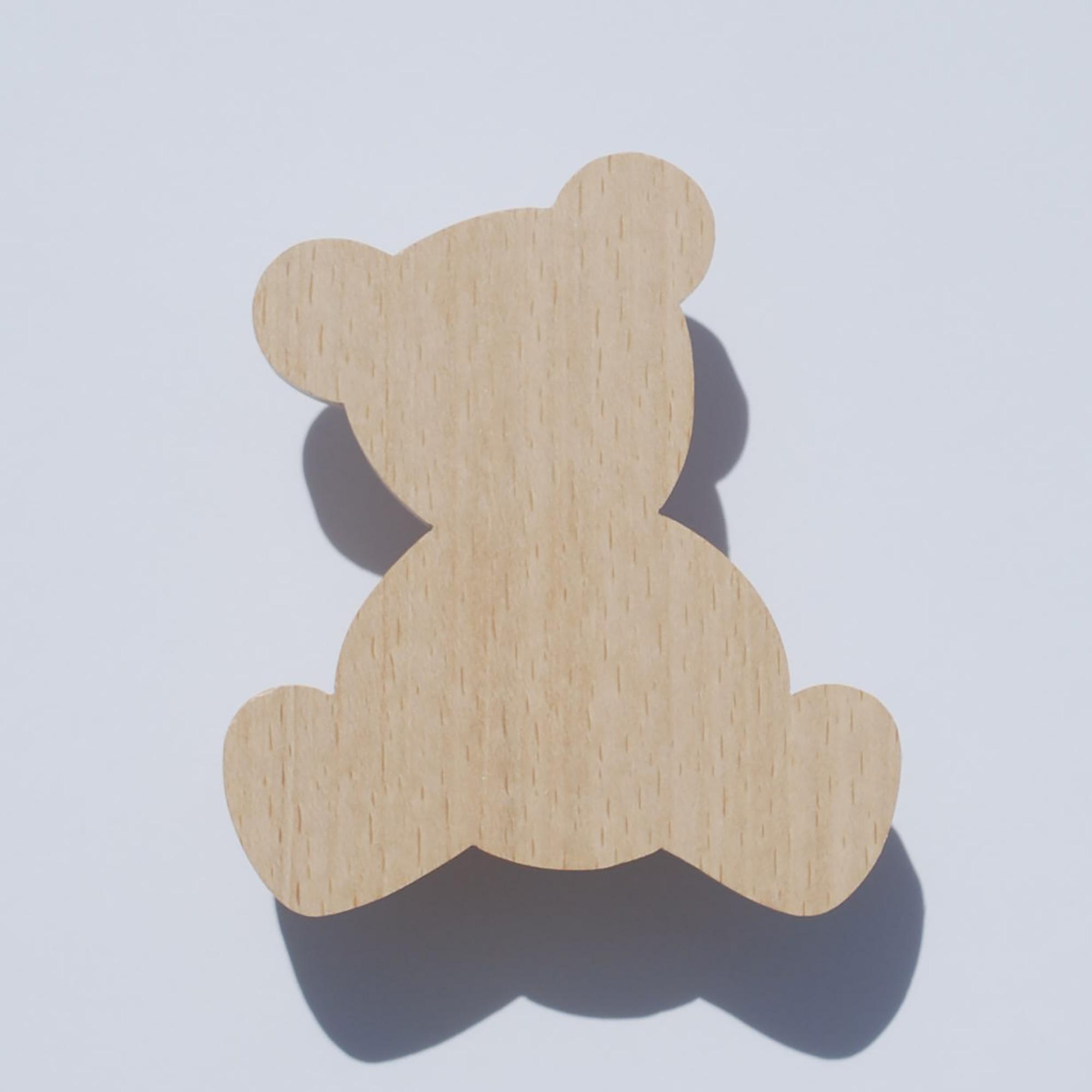 Patère enfant - Patère bois - ourson