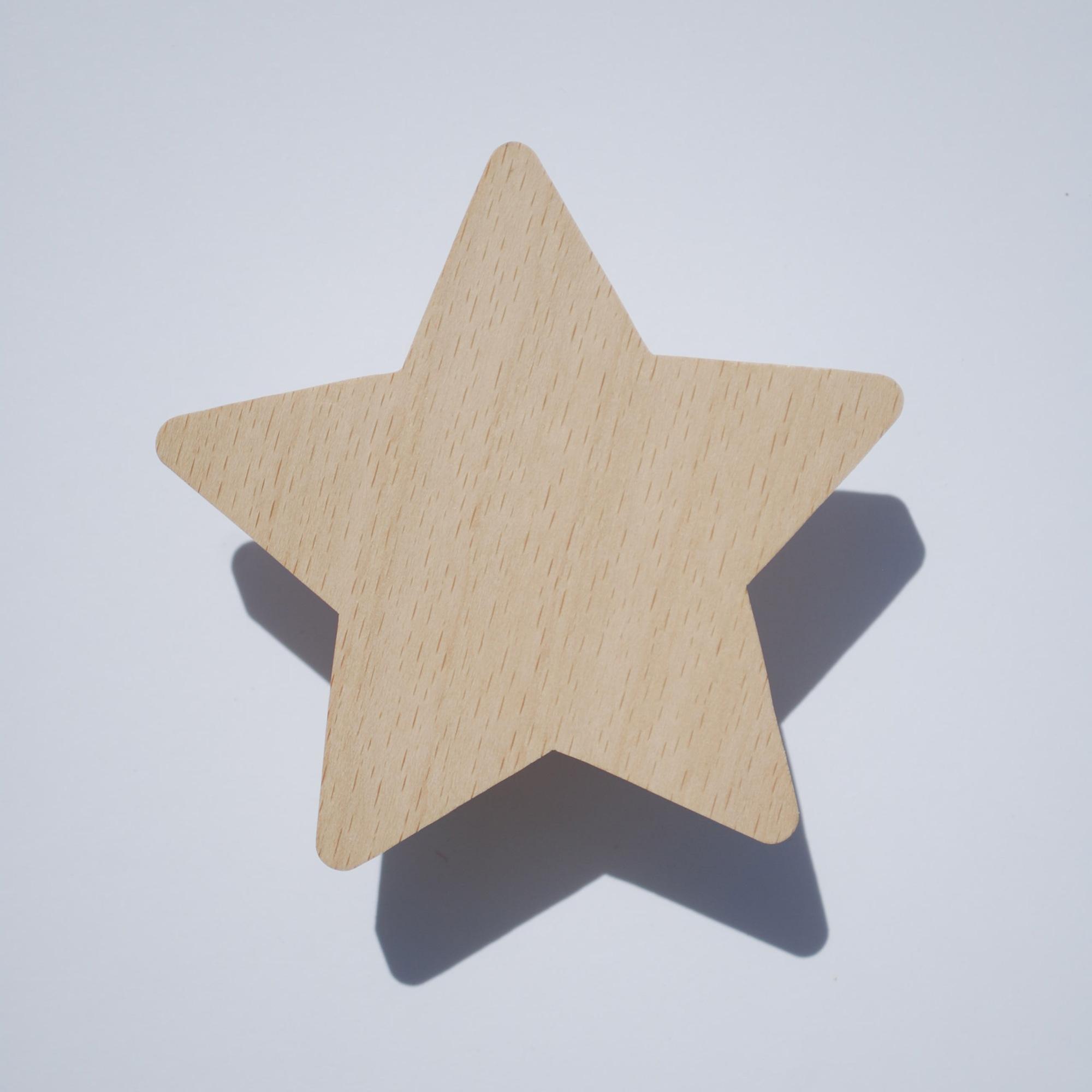 Patère enfant - Patère bois - étoile